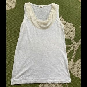 J Crew Chiffon Sleeveless Top